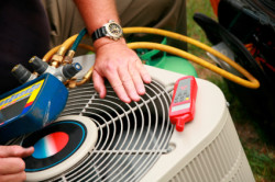 Jimmy Gusky Heating & Air LLC - Checking an AC System