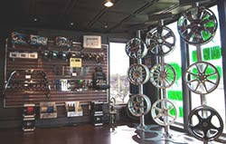 Auto Trendz - Rim and tire selection in our showroom
