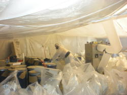 KEM Environmental Solutions- Asbestos Removal in a Basement
