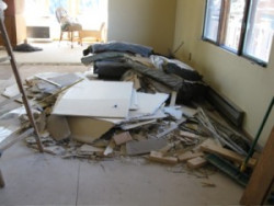 KEM Environmental Solutions - room demolition