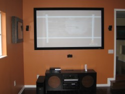 hoz tv - game room installation