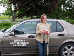Mackay's Driving School - Student completed driving lessons