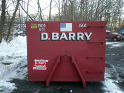D. Barry Rubbish Inc. - Dumpster 15 Cubic Yards