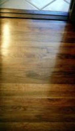Hansen's Wood Flooring - Hardwood Refinishing Project - After Picture