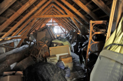 Junk4Trunk- Trash Pile in attic
