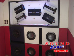 Soundmaster Tint & Alarm - Showroom