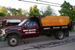 Erik's Hauling and Moving - Dump Truck