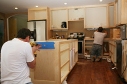 Remodeling Kitchen and Building Cabinets