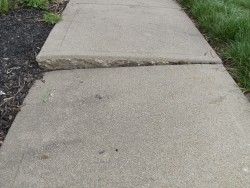 EverDry Waterproofing - Sidewalk Sinking