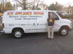 Ace Appliance Repair, Inc. - Service Van