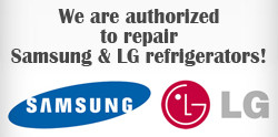 LG and Samsung Refrigerator Repair