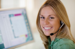 Acello Tax Resolution Group - Tax Help Specialist With Headset On