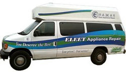 Eleet Appliance Repair- Company Truck