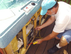 Peter to the Rescue - Hot Tub Repair