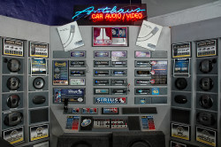 Autohaus - car audio product display