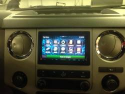 Parkway Car Stereo - Custom Dashboard Console