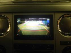 Parkway Car Stereo - Reverse Camera