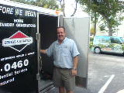 All Pro Electrical Contractors and Air Conditioning - Bill Sylvia with Truck