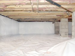 United Specialists - After Basement Waterproofing project
