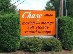 Chase Moving and Storage - Sign