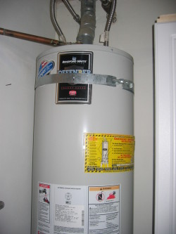 St Jean Heating and Cooling - water heater installed