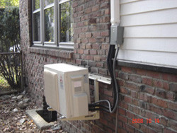 St. Jean Heating and Cooling - AC unit installed - outside