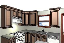 Convenient Kitchen and Bath Design - Kitchen Model