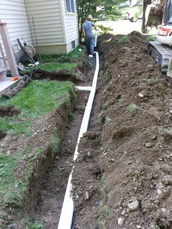 JNR Construction & Excavation Group - Replacing water lines