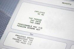 Taxation Solutions, Inc. - Pay Stub