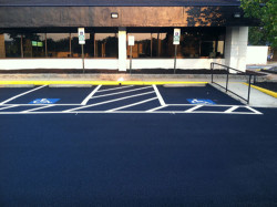 Consider It Done Striping - New parking lot lines