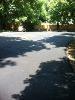 Driveway paving after - raleigh nc