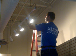 All Star Electrical Services, LLC - Installing Lights
