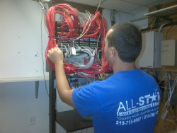 Computer Network Cable Installation in Philadelphia PA