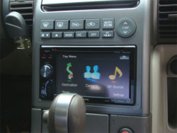 Boss Audio - Mobile video display showing device integration
