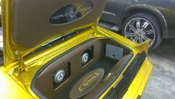 Custom Trunk Speakers