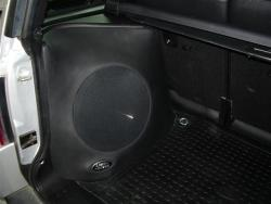 dick's stereo - custom speak installation
