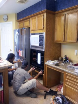 A Noble Service- Oven Install