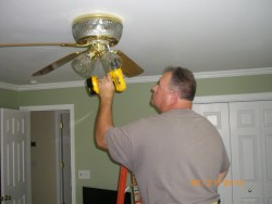 Ceiling Fan Wiring in Baltimore MD