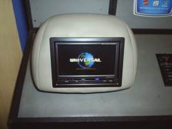 Audio Electronics - Mobile Video Display installed in seatback