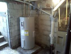 J. A. M. Plumbing and Drains - Water Heater