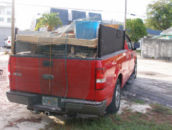 Liberty Plumbing & Excavating- Truck Filled with Junk