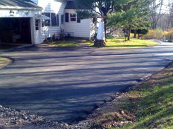 Christopher's Paving - Driveway Paving Job Photo