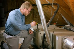 Bluegrass Technologies Corp - Inspecting an Attic
