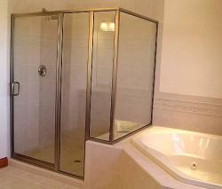 Jet Glass and Mirror - New Glass Shower
