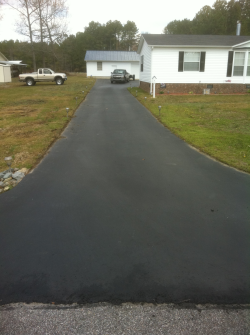 Seal Coating Before in Raleigh NC