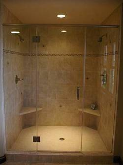 Jet Glass and Mirror - Glass Shower Door