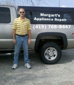 Morgart's Appliance Repair - Company Truck