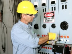 Granite State Electricians - Electrical Contractor on a Commercial job