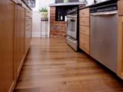 Hansen's Wood Flooring - Kitchen Flooring Job
