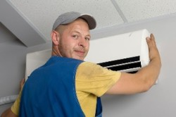 Jimmy Gusky Heating & Air LLC - Installing a ductless air system
